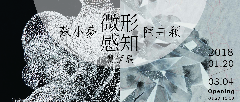 【展覽資訊|《微形感知》|蘇小夢 陳卉穎雙個展 】