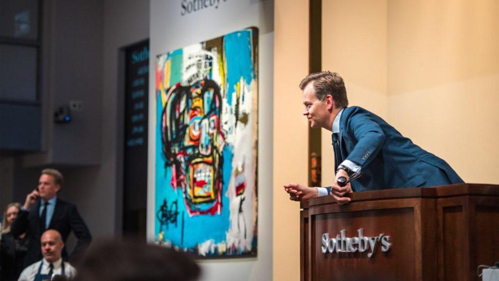 正如本周佳士得和蘇富比的拍賣決鬥巴斯奎特一樣,這是該藝術家有史以來最昂貴的十幅作品公開售出