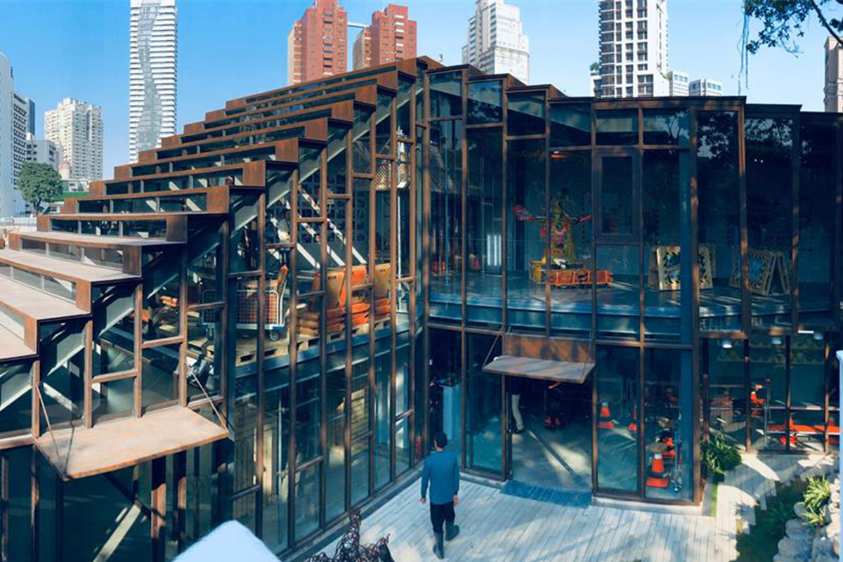 【 台中勤美術館化身「工家美術館」!解密全球首座結合工地、展覽與共享複合式藝術場域 】