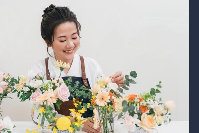 【花藝工作坊|透過花藝,傳達空間美學的生活提案】