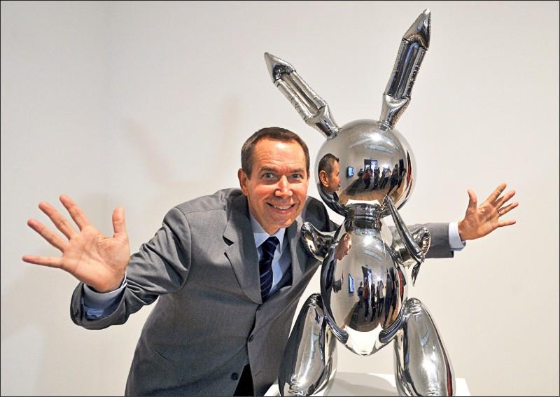 傑夫.昆斯被佩斯畫廊全球獨家代理,解約高古軒與卓納畫廊