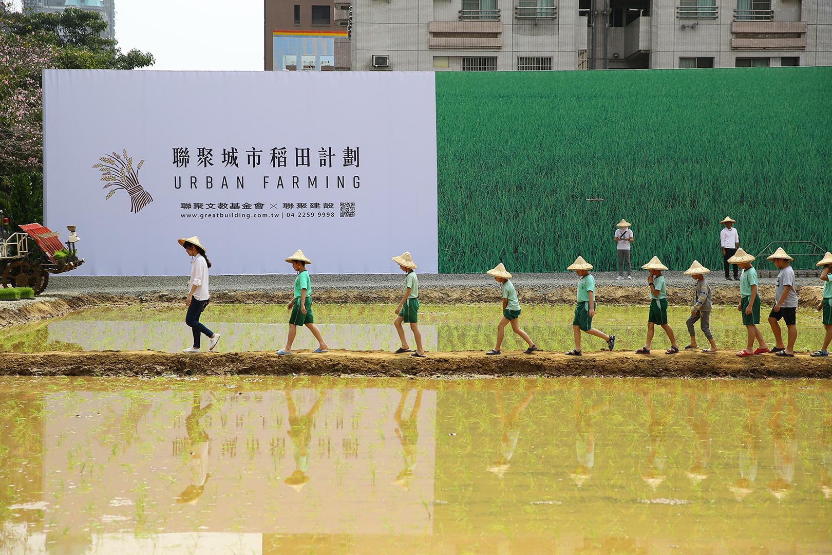 《聯聚城市稻田——人禾好時》:在城市中體驗耕種與自然的真實共感| 即日起 – 0905