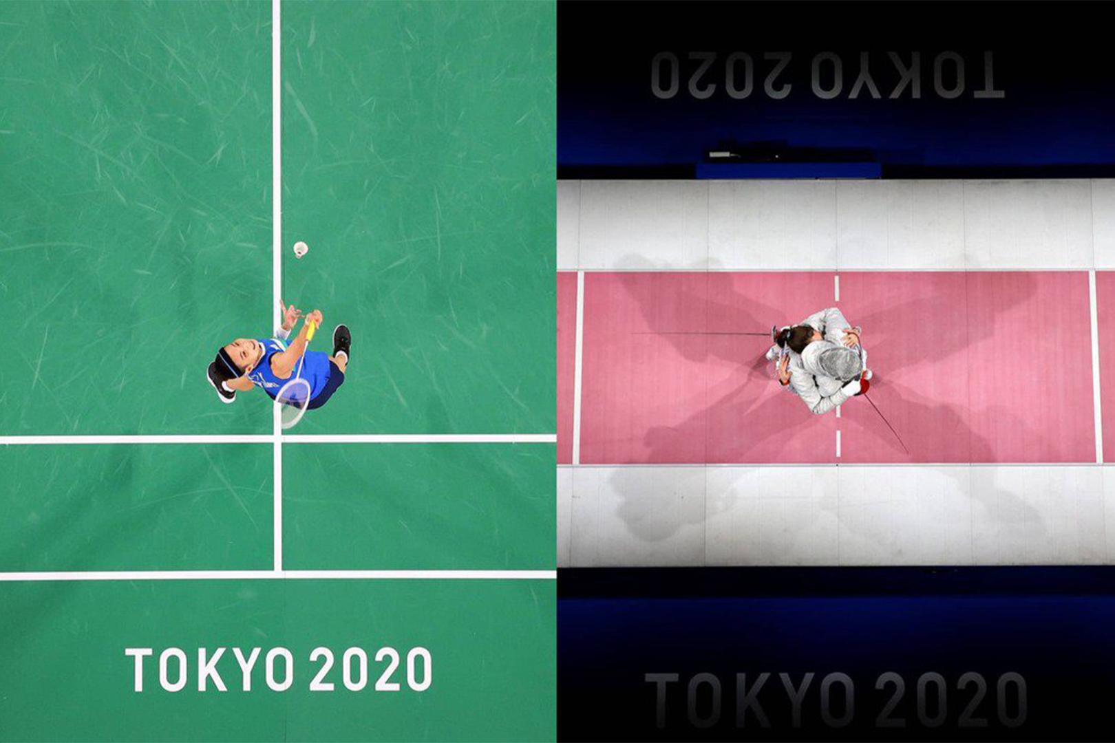 一張好照片張力無限!東京奧運官方IG「當運動遇上藝術」系列,巧妙角度與構圖讓球后戴資穎也上相